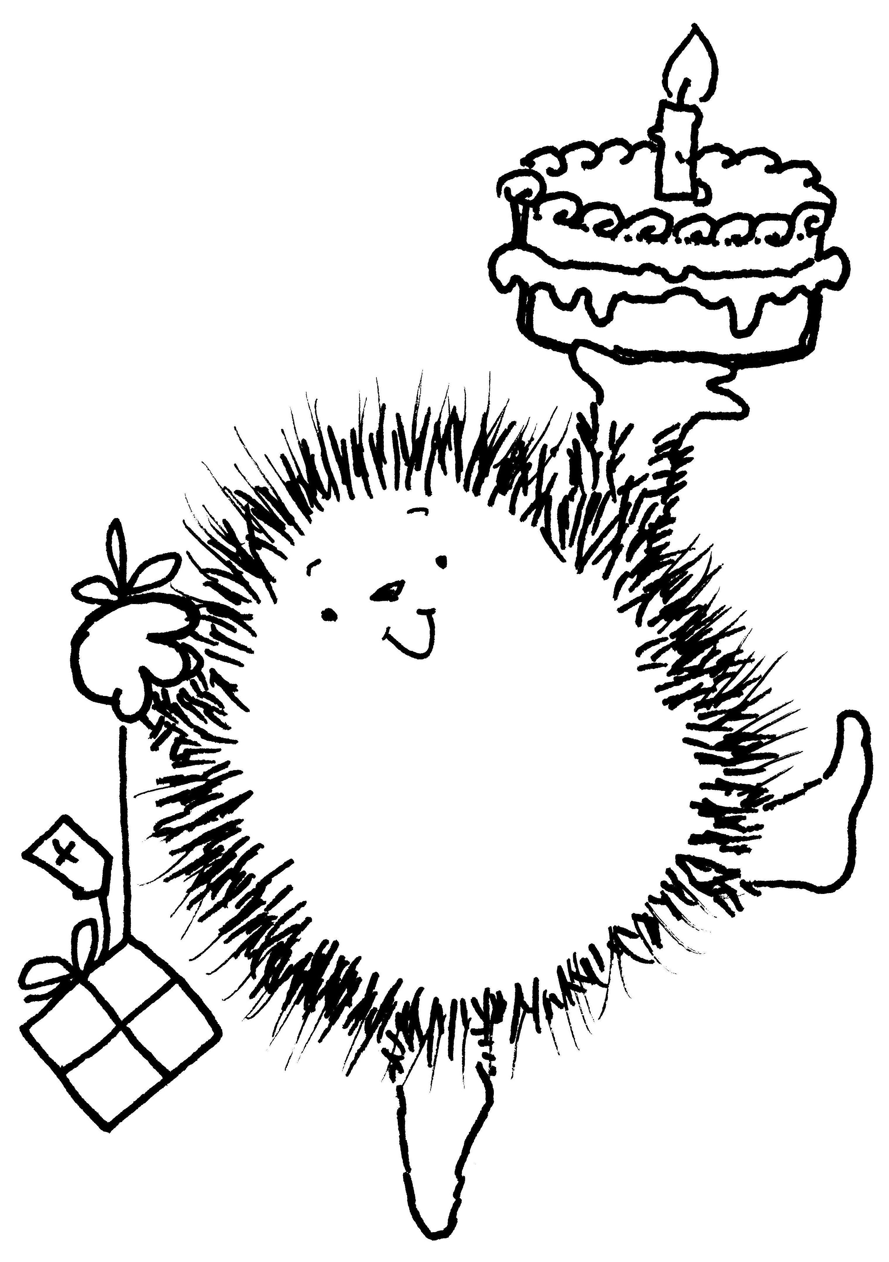 KS Crafts Needlework Happy Birthday Rubber Stamp Set