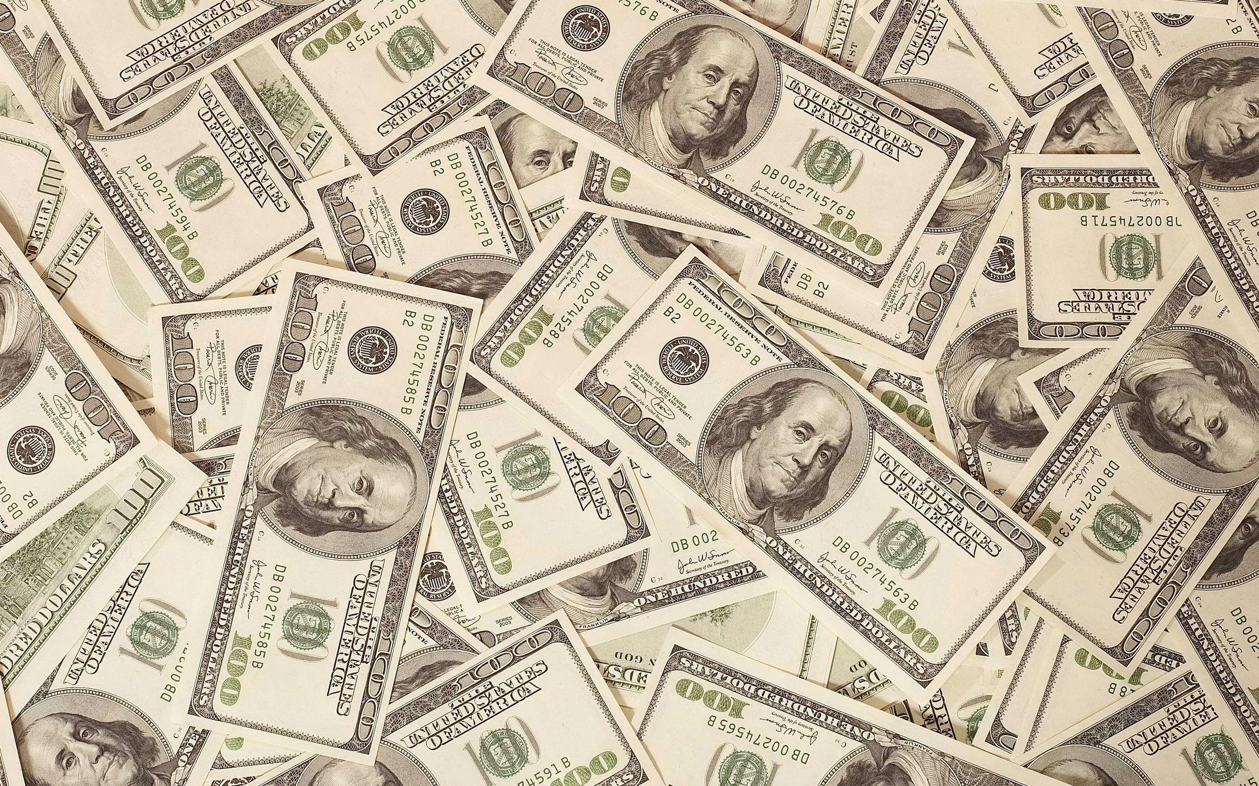 Wallpaper Original money, dollars, bills, background