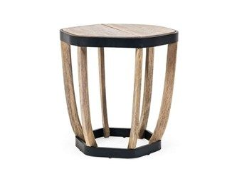 Garden Side Tables Ethimo Archiproducts Small Coffee Table Hexagon Coffee Table Teak Outdoor Coffee Table