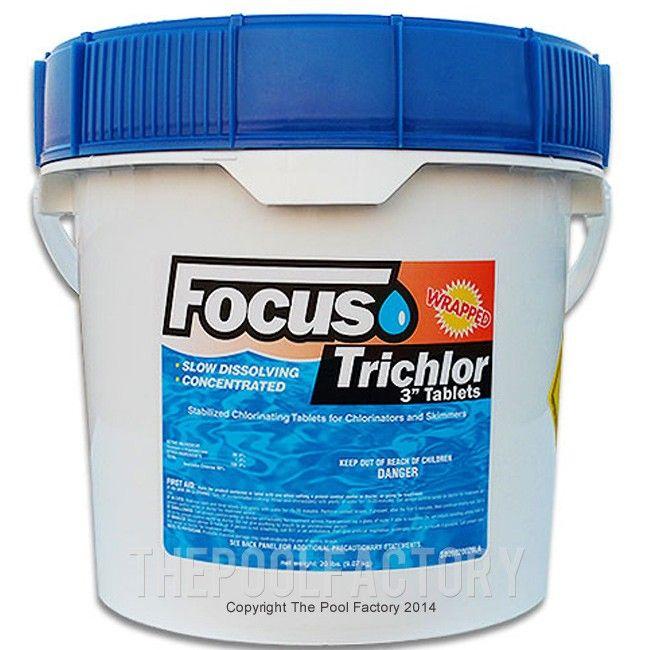 3 Chlorine Tablets 20lbs Tablet Swimming Pool Water Clean Water