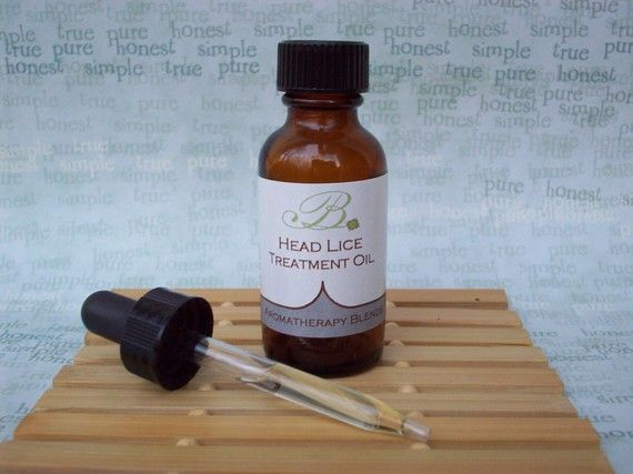 Head Lice Treatment Oil by budsblendsandbeyond on Etsy, $9.95