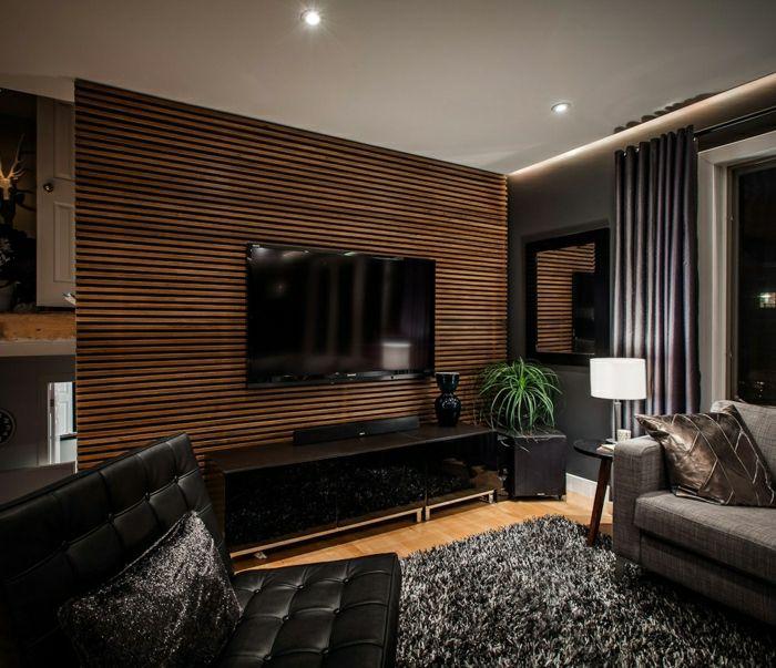 Wohnzimmer Wandfarbe Modern: 35 Ultra Moderne Vorschläge