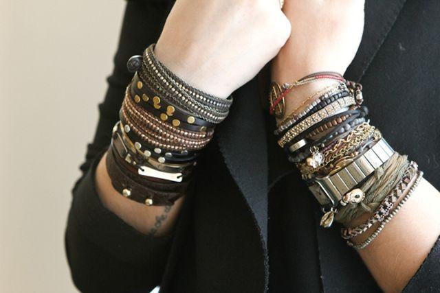 bracelets, bracelets, and more bracelets!