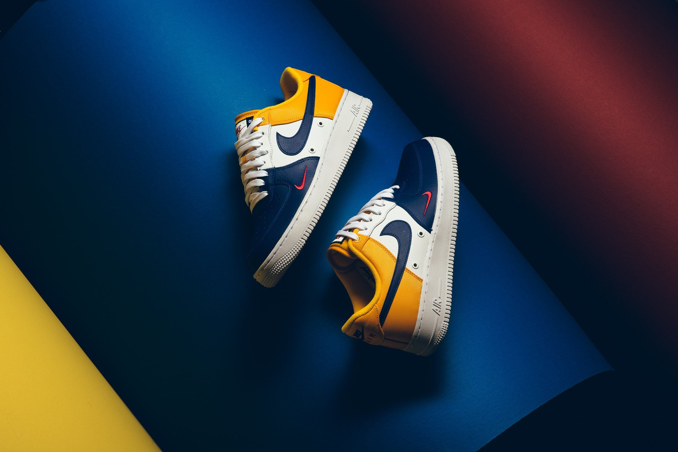brand new 87d8c 620be This new colorway of the Nike Air Force 1 is perfect for Lakers fans as it