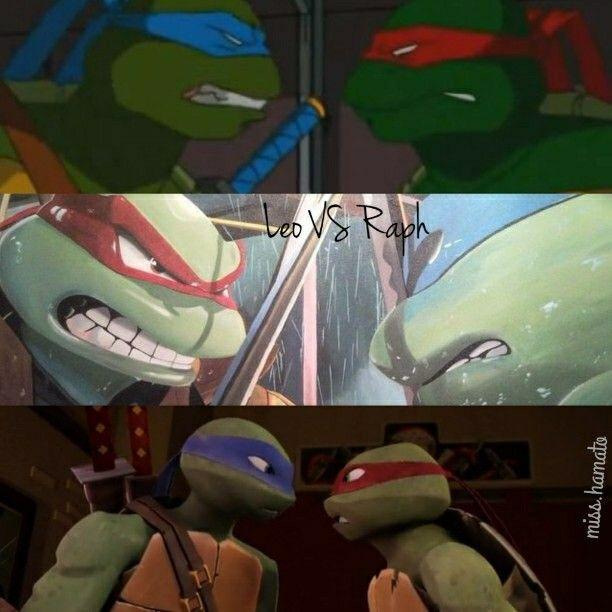 Leo and Raph   TMNT   Ninja turtles, Teenage mutant ninja
