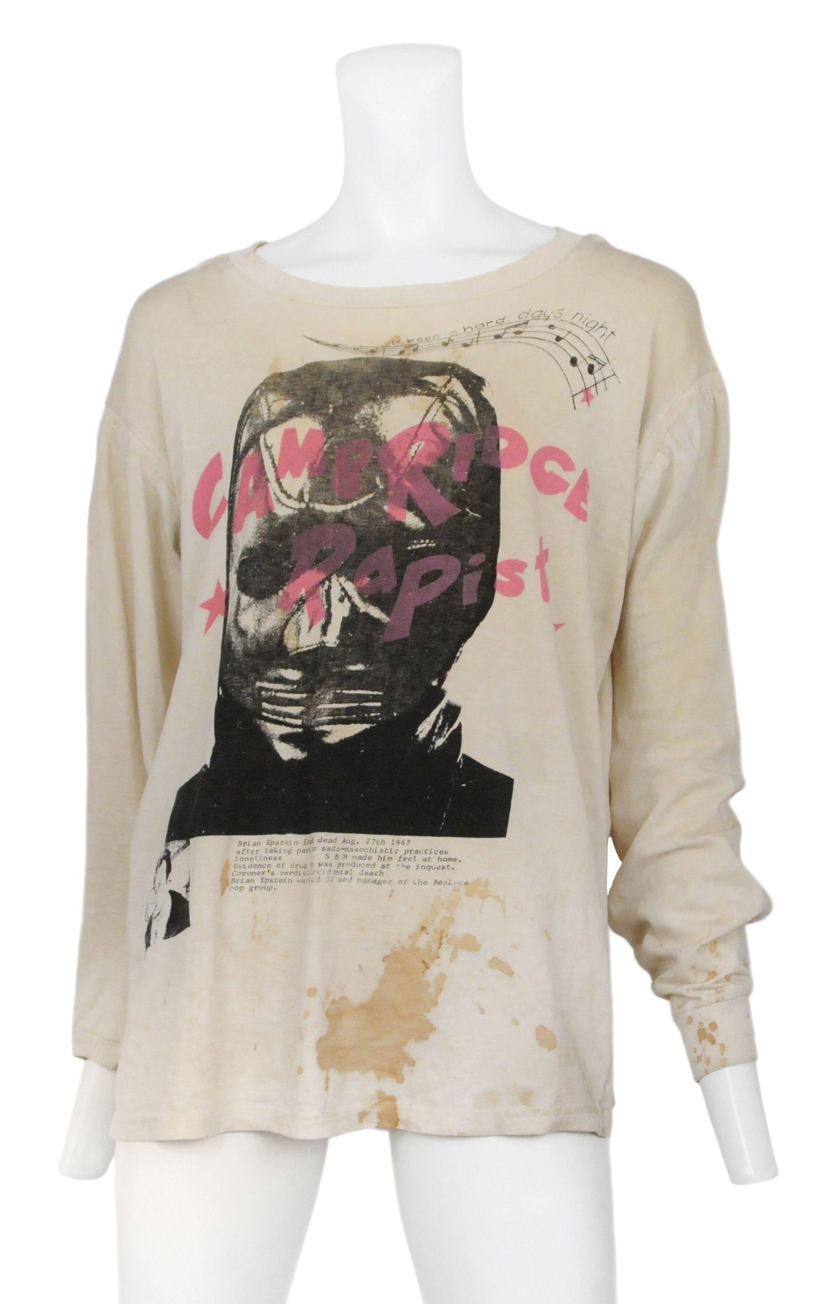 ba31d94c Vivienne Westwood & Malcolm McLaren Seditonaries T-Shirt @ Resurrection  Vintage. #whatareyoulookingat