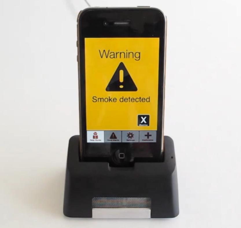iPhone Dock Smoke Alarm Alerts You During Sleep Iphone