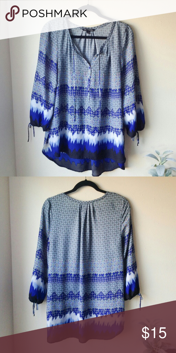 9d44f0b299b1f8 Zac & Rachel Blouse In excellent used condition. Size Large Armpit to  armpit approx 22