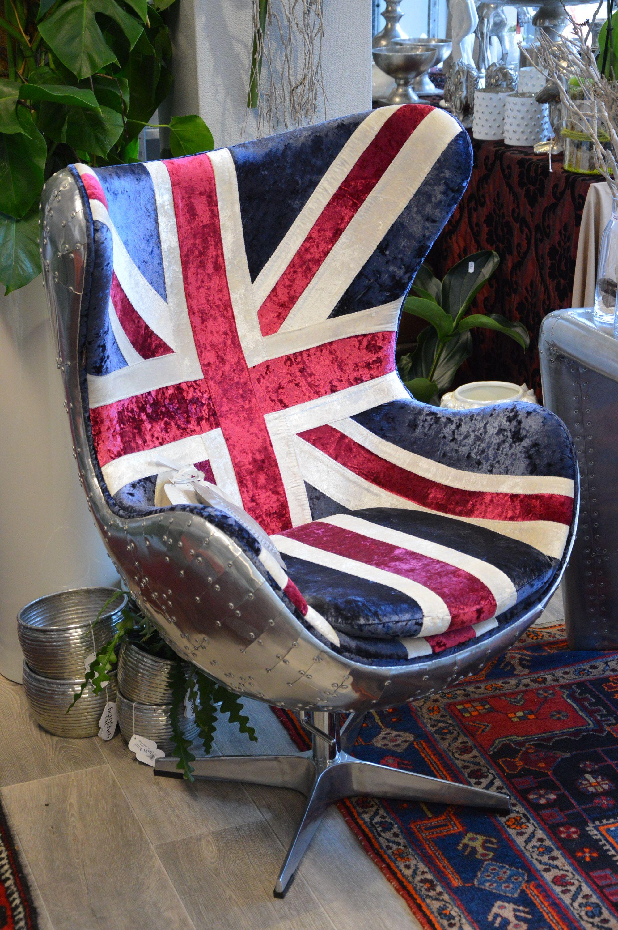 Egg Chair Engelse Vlag ...