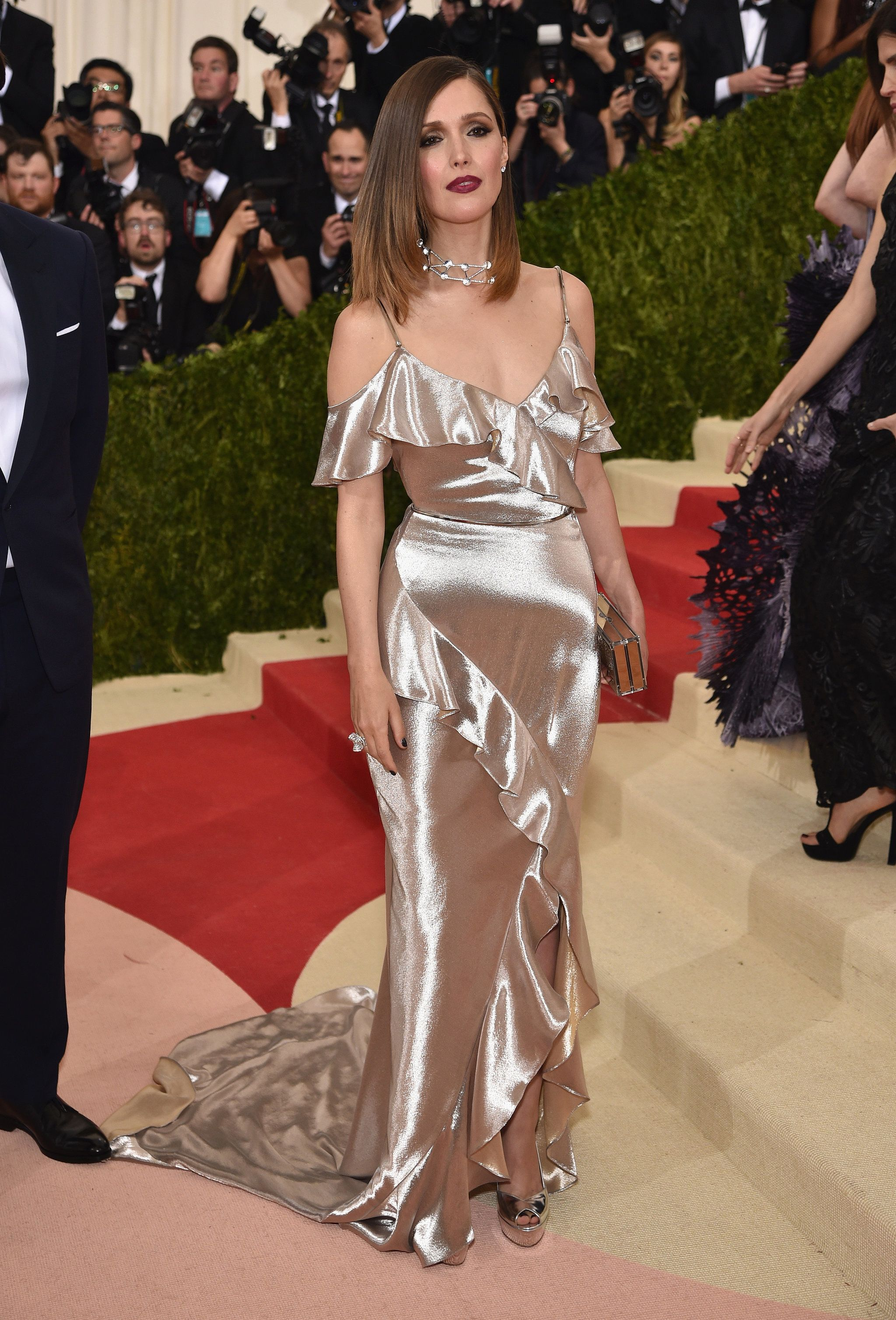 pics Rose byrne at met gala in new york