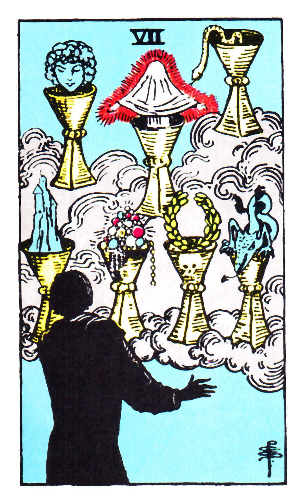 Seven of Cups ~ Rider Waite