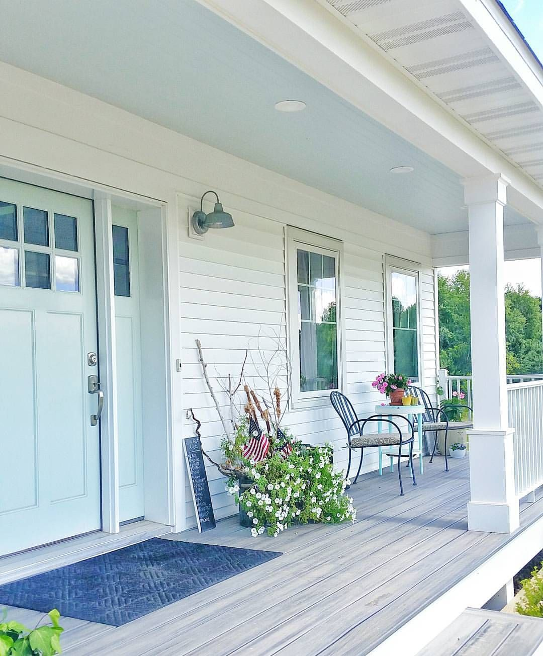 Front door and panels (Palladian Blue by Benjamin Moore) & Front door and panels (Palladian Blue by Benjamin Moore) | Home ...