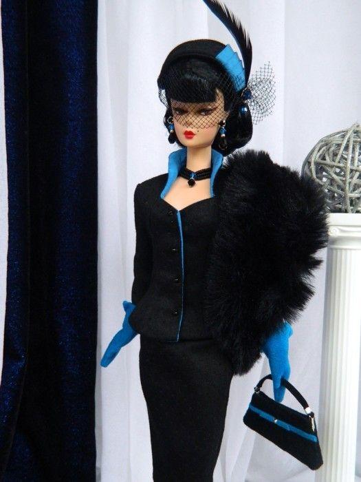 OOAK Vintage Fashion for Silkstone/Fashion Royalty Dolls by Joby Originals