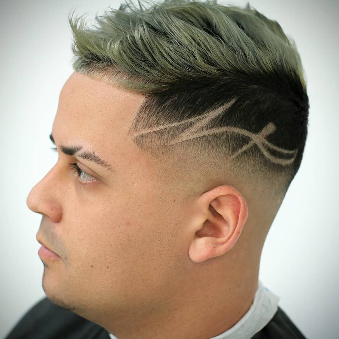 35 Awesome Design Haircuts For Men Men S Hairstyles Cabelo Masculino Desenho No Cabelo Masculino Listras Para Cabelo