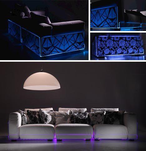 Led Light Up Sofas