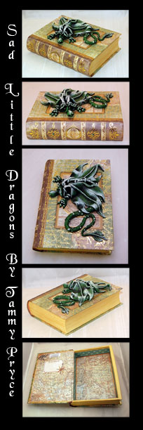 Sad Little Dragons By: Tammy Pryce   #dragons #collectibles