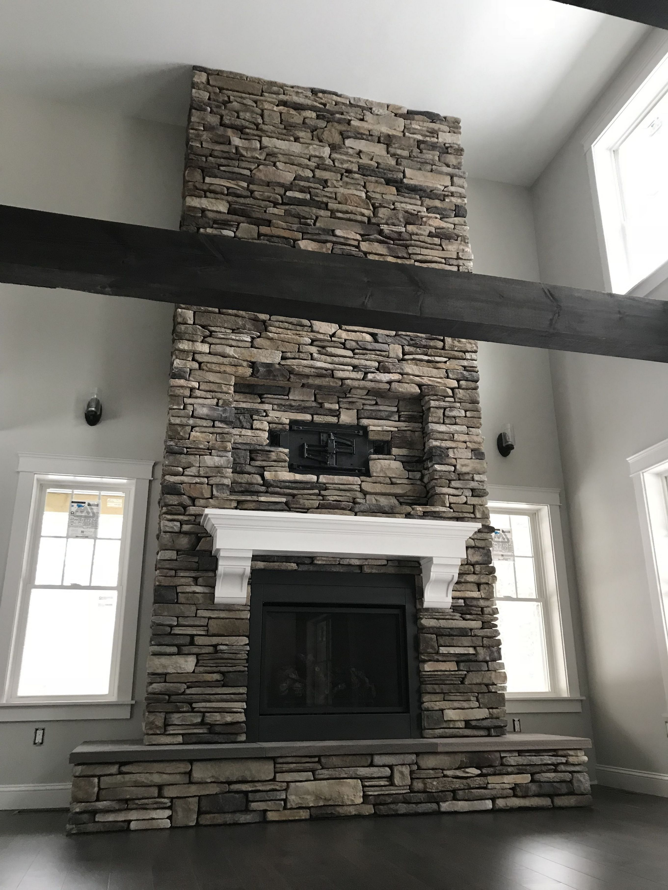 Since The Fireplace Is Frequently The Focus Of A Room Paint It To Complement The Inside Of Your Room Besides Being An Amazing Decorativ Home Decor In 2019