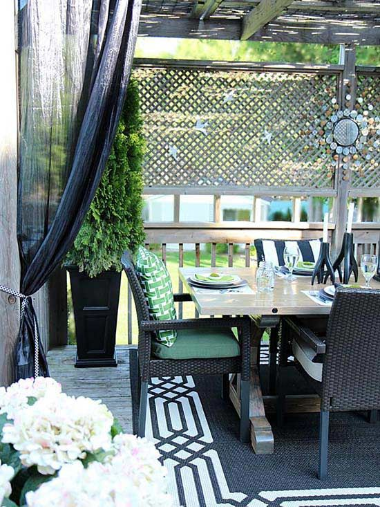 5 ways to make your small outdoor space look deceptively on awesome deck patio outdoor lighting ideas that lighten up your space id=80017