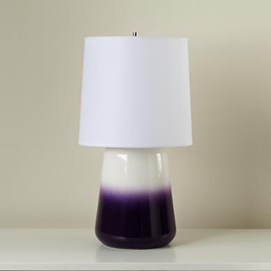Kids Lighting Purple Ceramic Gumdrop Table Lamp In Lamps