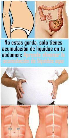 retencion de liquidos abdomen hombres