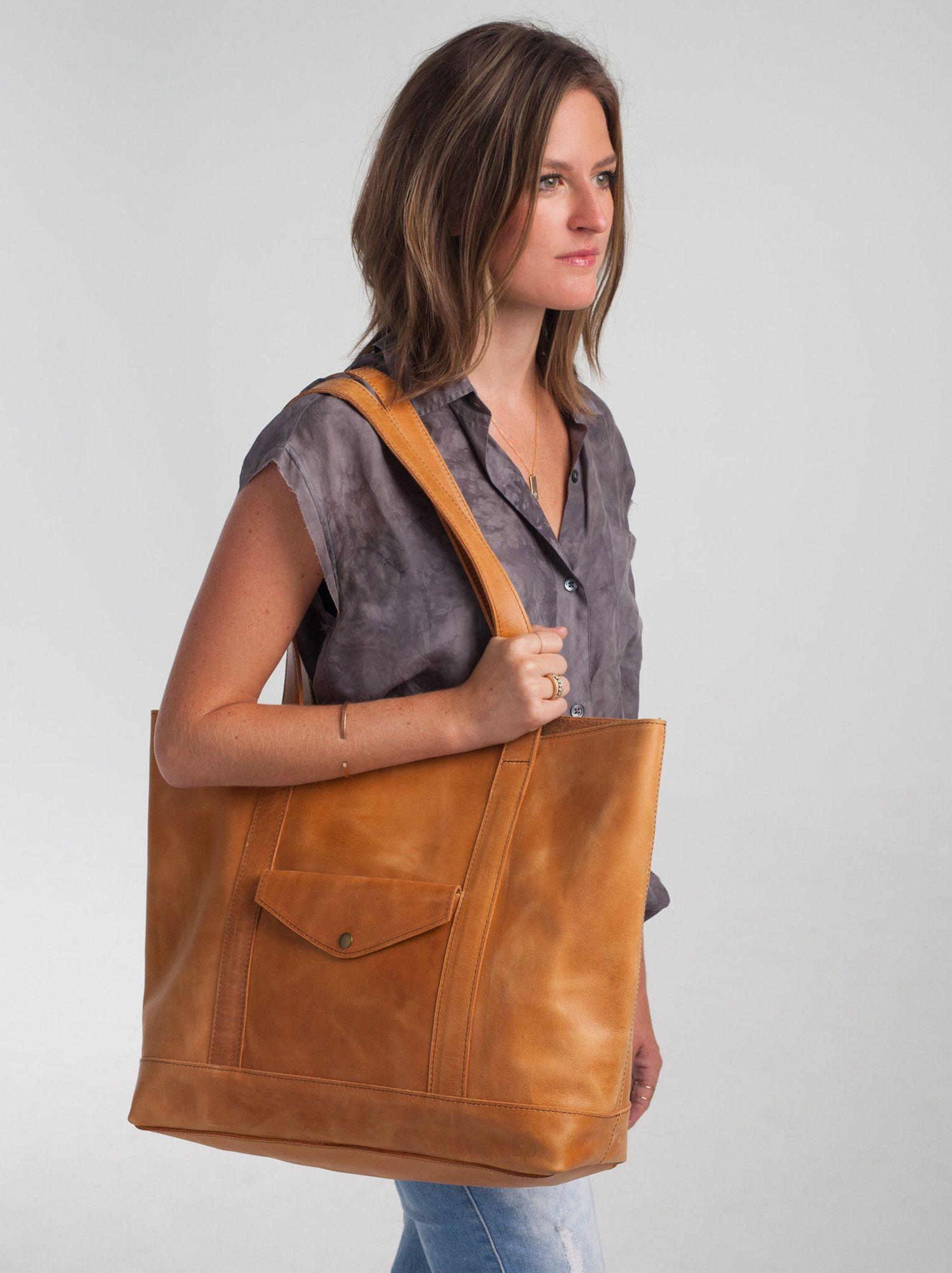 Sewunet leather carryall fashionable handbags u gladrags