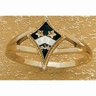 Loyalty Badge Replica Ring Kappa Alpha Theta Kappa Theta