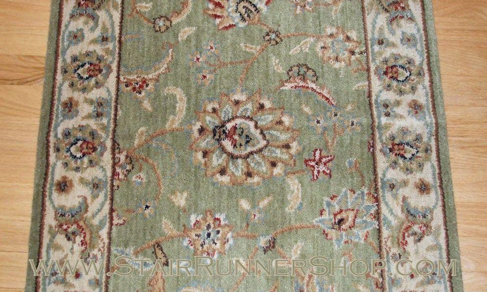 Best Nourison Persian Jewel Stair Runner Emerald 27 Carpet 400 x 300