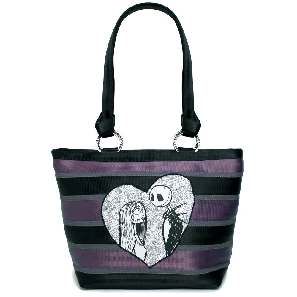 Disney Nightmare Before Christmas Jack & Sally Carriage Ring Tote-on ...
