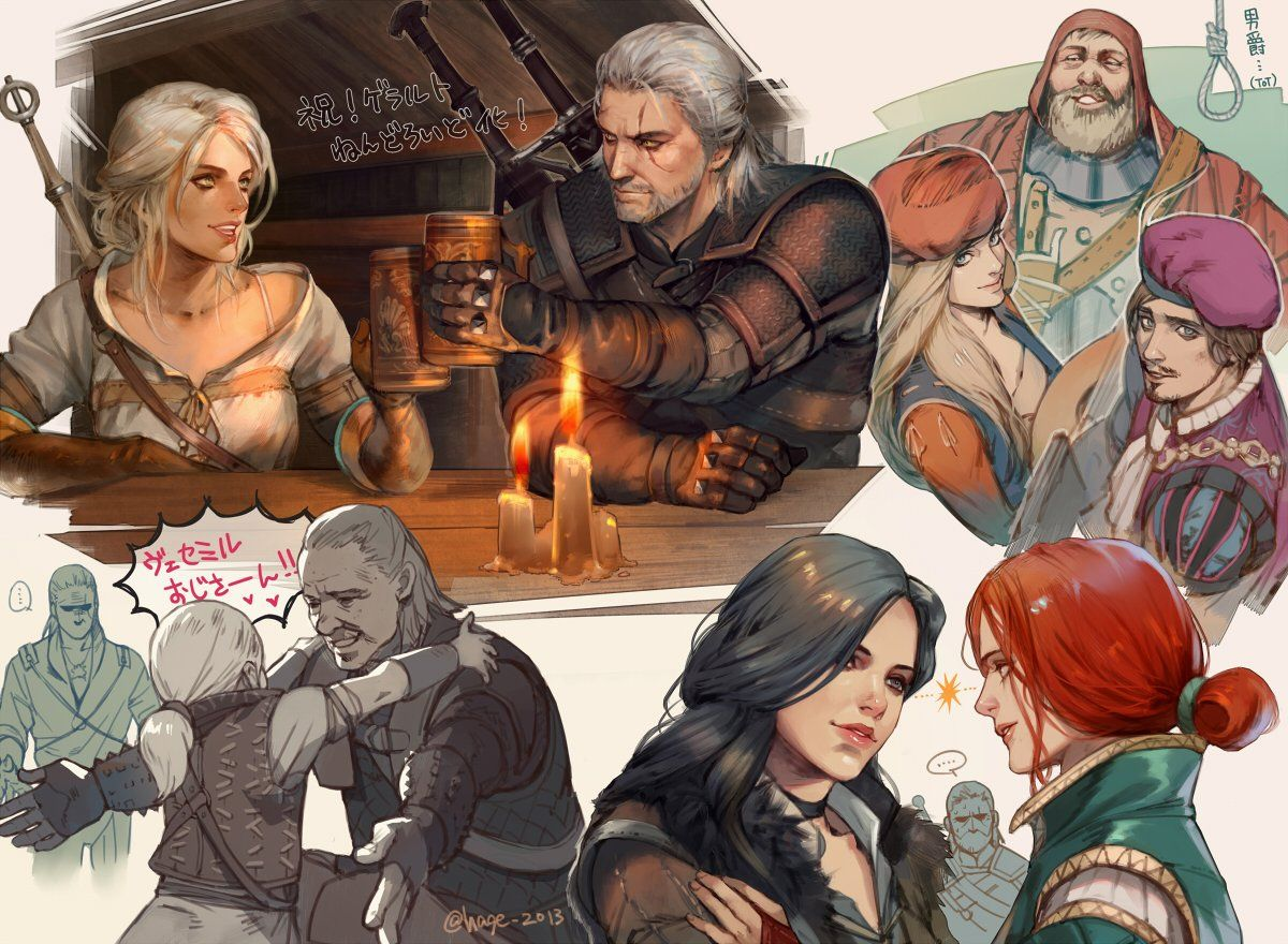 reddit the front page of the The witcher wild
