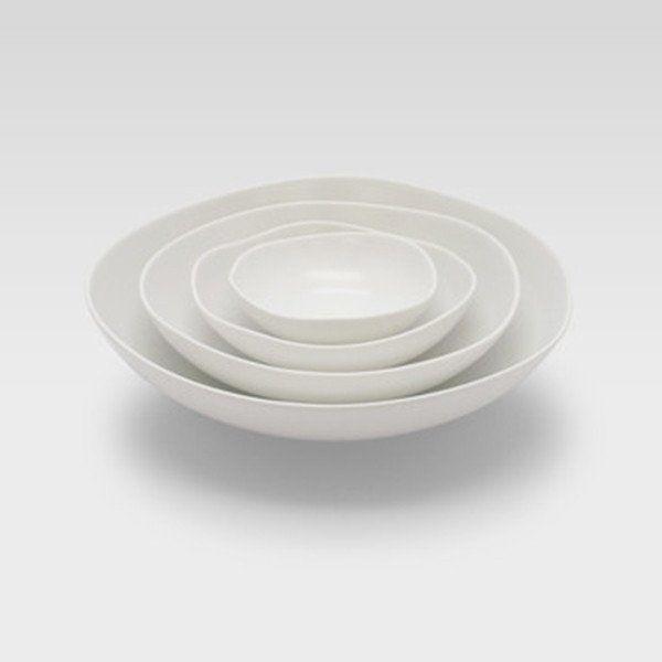 Feuille Porcelain Bowls