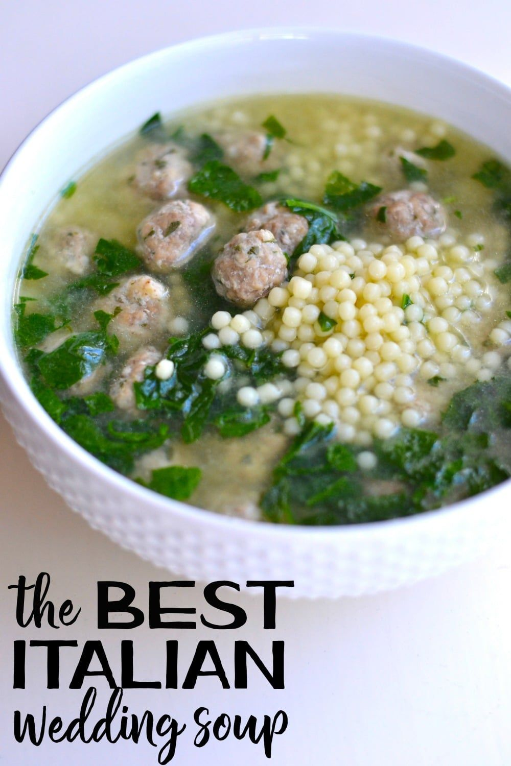 This Italian Wedding Soup Recipe Is Delicious And Nutritious Everyone Loves It Via Goodinthesimple