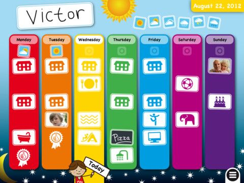 Teaching learners with multiple special needs calendar and weekly schedule app cute and easy to use teaching learners with multiple special needs calendar and advanced visual schedule apps for kids with special pronofoot35fo Gallery