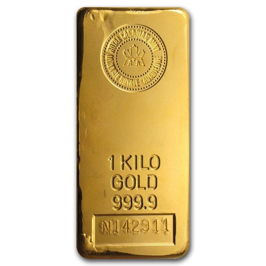 1 Kilo Gold Bar Royal Canadian Mint Rcm Sku 43292 Gold Goldbar Goldinvesting Gold Bullion Gold Bar Gold Bullion Coins