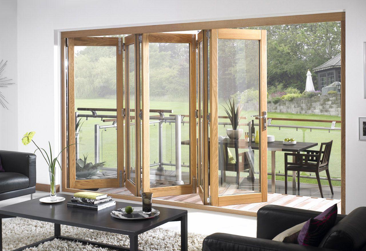 Bi Fold Doors Premium External Bifolding Doors Puertas Interiores De Vidrio Ventanales Corredizos Puerta De Vidrio