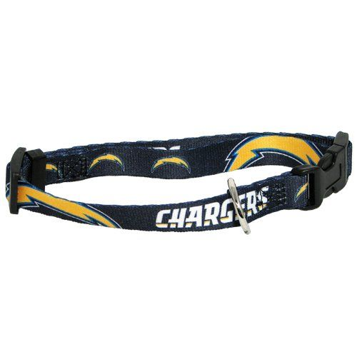 Large Hunter MFG 1-Inch San Diego Chargers Adjustable Harness