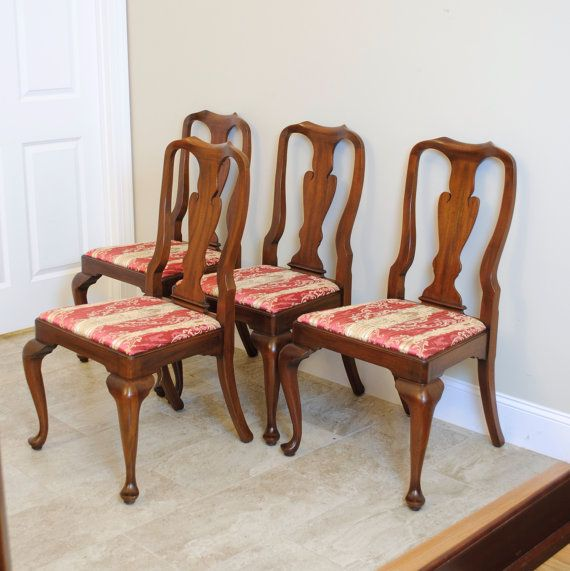 Charmant Henkel Harris Mahogany Set Of 4 Side Chairs By PrettyRuggedDesigns