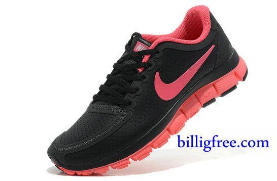 best authentic aa00d be2f4 Billig Schuhe Damen Nike Free 5.0 V4 (FarbeSohle,innenundLogo-pink,vamp- schwarz) Online Laden.