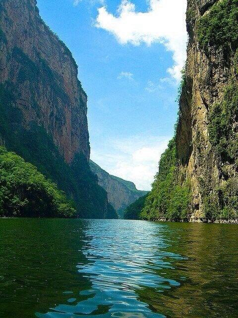 Cañón del Sumidero, Chiapas www.SitiosDeMexico.com
