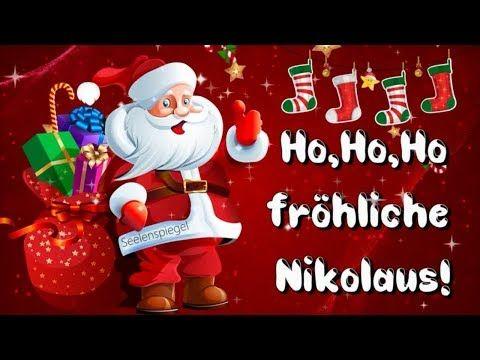 Liebe Nikolaus Grusse Fur Dich 6 Dezember Youtube Nikolaus Schonen Nikolaus Grusse Zum Nikolaustag