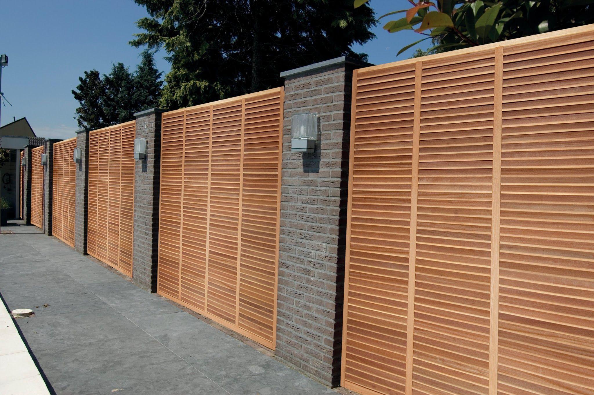 superbe cl ture jardin en bois exotiques treillis en bois exotiques pinterest bois. Black Bedroom Furniture Sets. Home Design Ideas