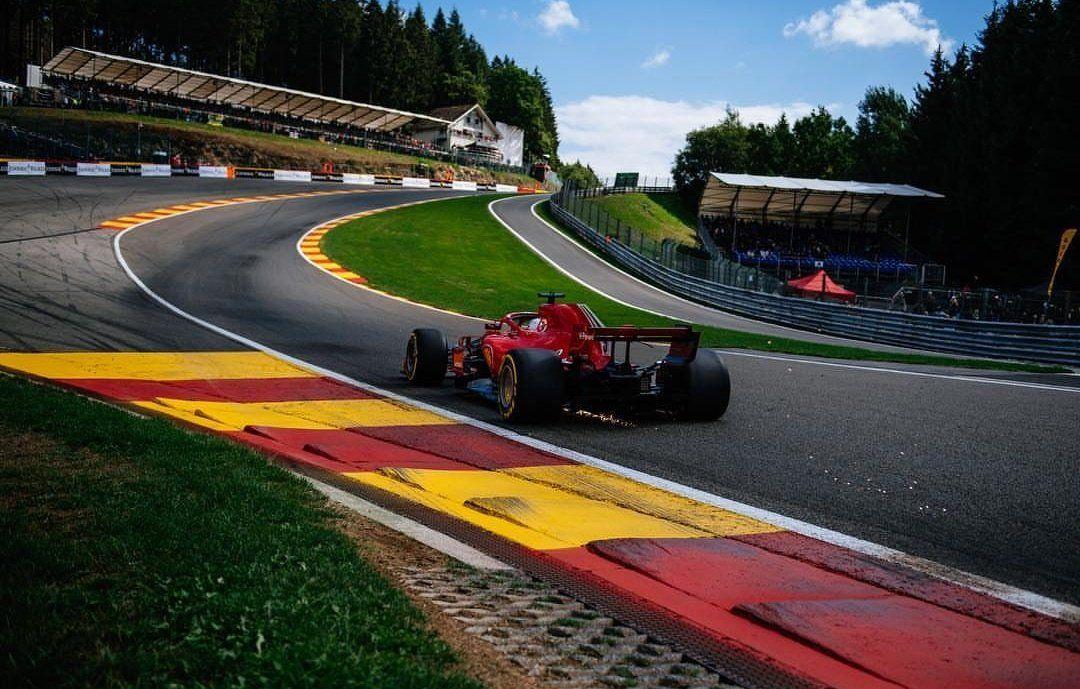 Seb Through Eau Rouge Sebastian Racing Spa