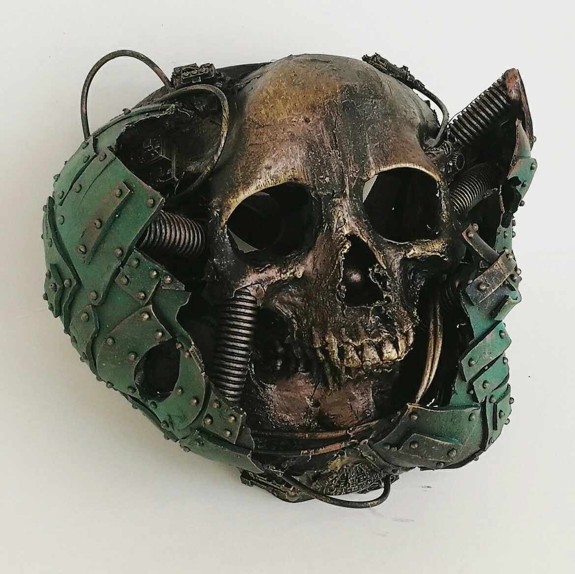 Behind the mask. Custom masks and art made to order from