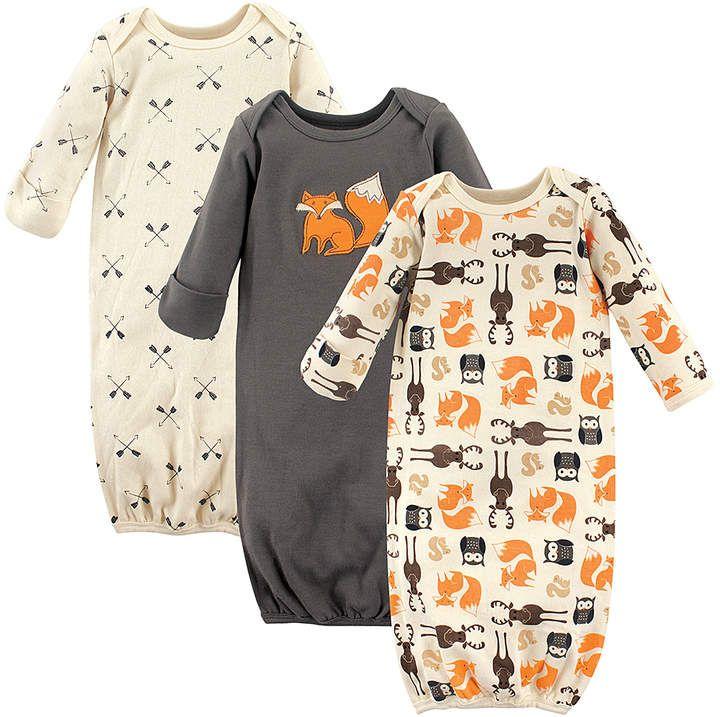 Gray Forest Gown Set - Infant #gowns#soft#cotton | Art | Pinterest
