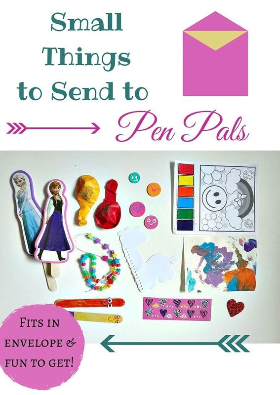 Small Things To Send To Pen Pals Penpal Pen Pal Gifts Pen Pal Letters