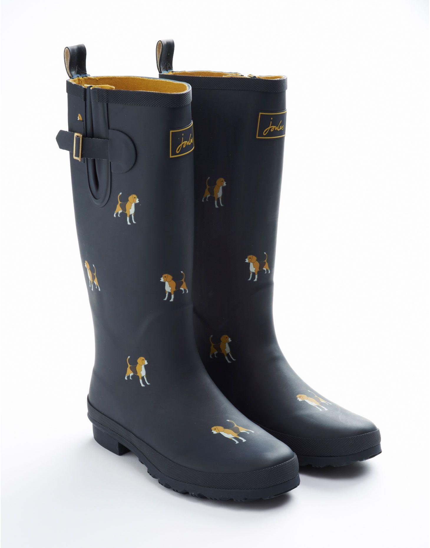 WELLY PRINT Womens Printed Rain Boots