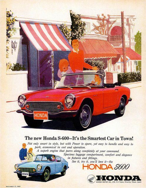 1966 Honda S 600 | Flickr   Photo Sharing! Japanese CarsJapanese Sports ...