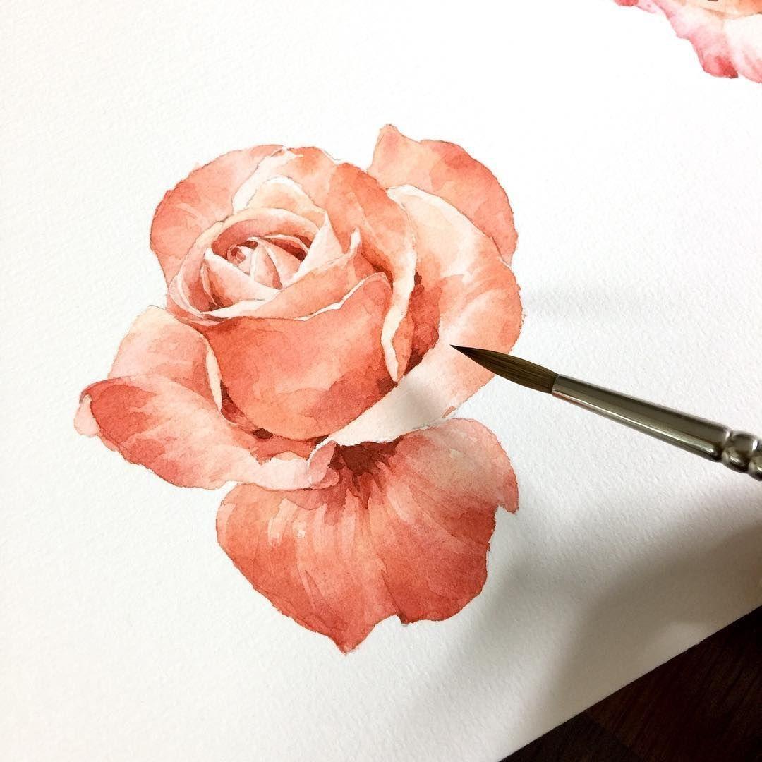 Watercolorist Senti Day Waterblog Akvarel Aquarelle Drawing Art Artist Artwork Painting Watercolor Blog Art Drawings Sketches Simple Watercolor