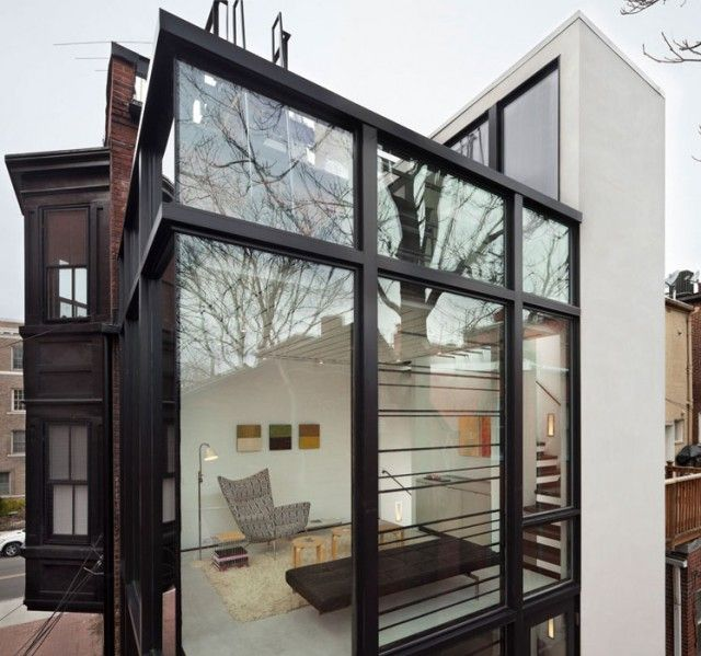 Casa de vidro expõe rotina de moradores - Casa Vogue