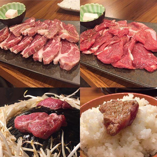 ジンギスカン 羊の臭みもまったく無くめちゃくちゃ美味しい羊肉です