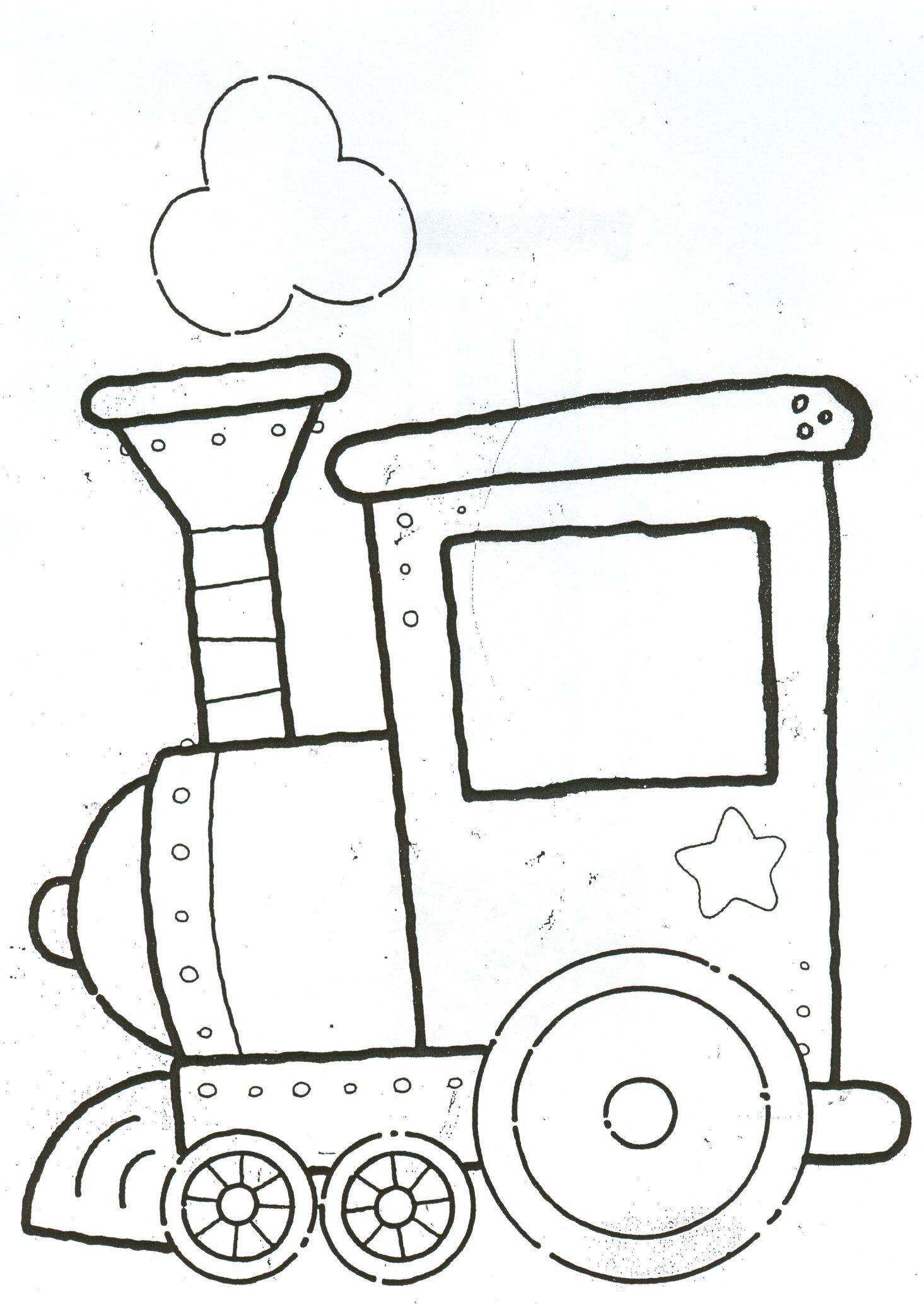 locomotora | Tren | Pinterest | Tren, Colorear y De la navidad
